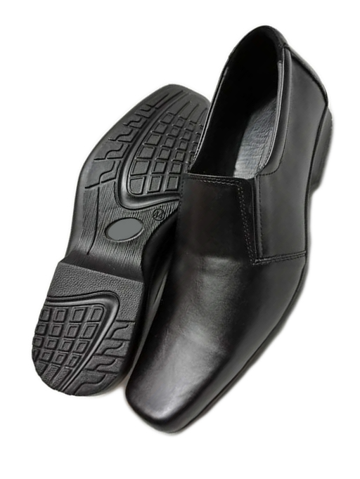 Belle Black Pure Leather shoes