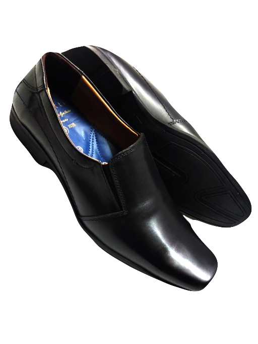 Buddy Black  Pure Leather Pointed shoe