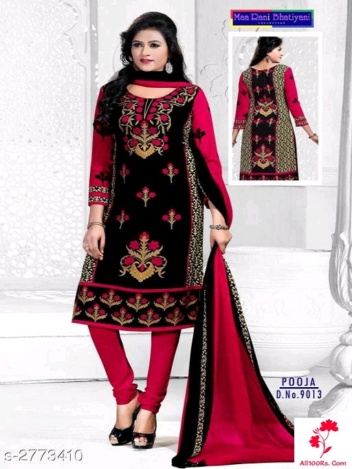 Ethnic Crepe Suits and Dress Materials
