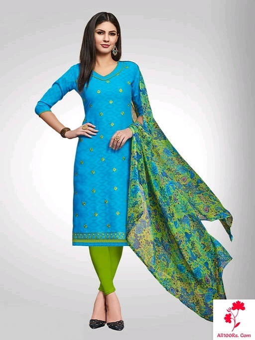 Elite Trendy Poly Cotton Chudidhar Materials