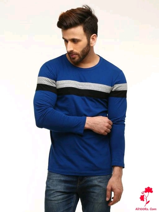 Men's Dapper Cotton Fancy T-Shirts 5