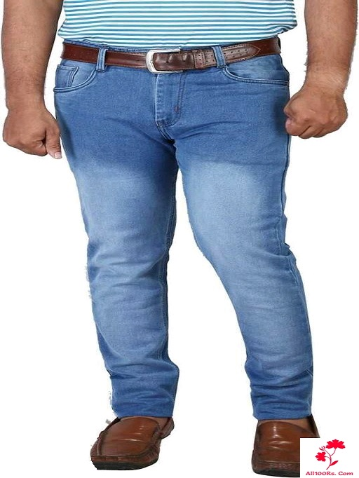 Men's Stylish Denim Solid Men's Jeans