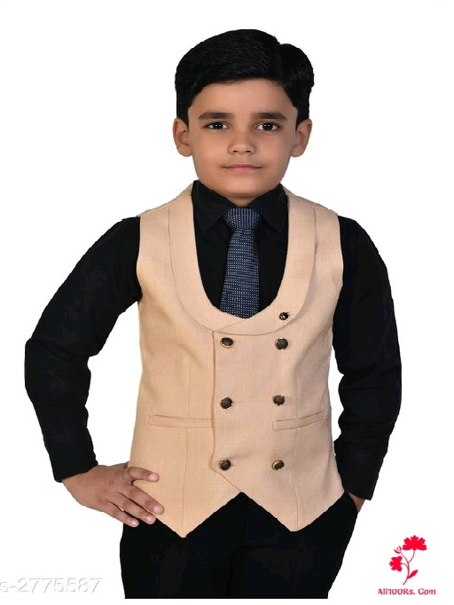 Trendy Stylish Polyester Waist Coat