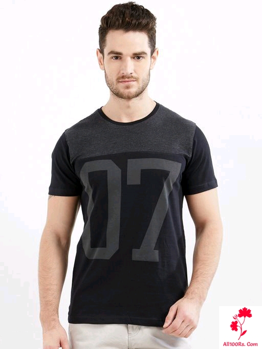 Fancy Men's Stylish Cotton T-Shirt