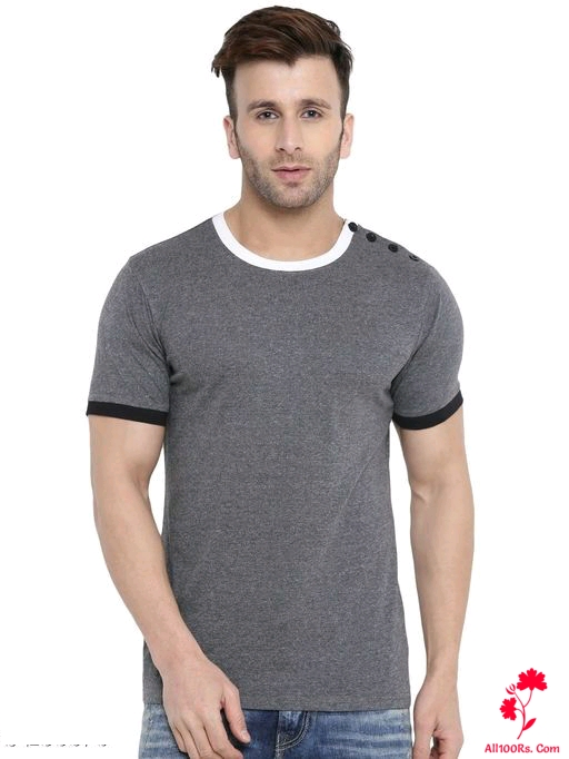 Trendy Men's Cotton Fancy T-Shirts