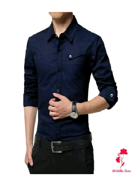 Supreme Men's Designer Cotton Solid Shirts