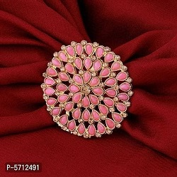 Fancy Gold Tone Traditional Rings
