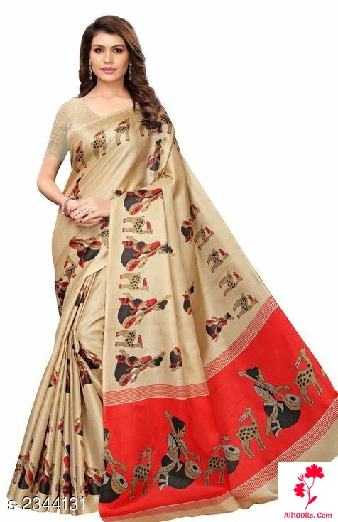 Traditional Printed Trendy Sarees