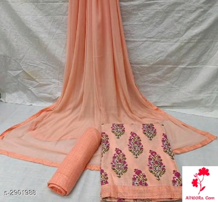 Jiya Designer Cotton Suits & Dress Materials
