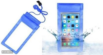 Travel Swimming Waterproof Pouch Cases Cover With Strips Lock For All Smart Mobile Phones