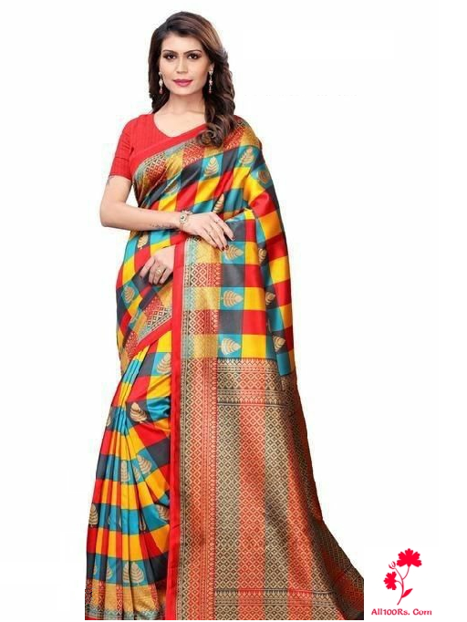Elite Ethnic Khadi Women's Saree