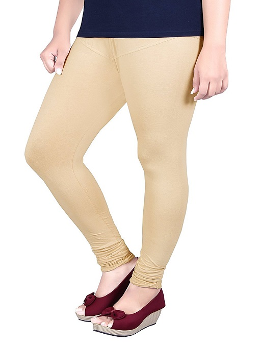 Cream Trendy Leggings