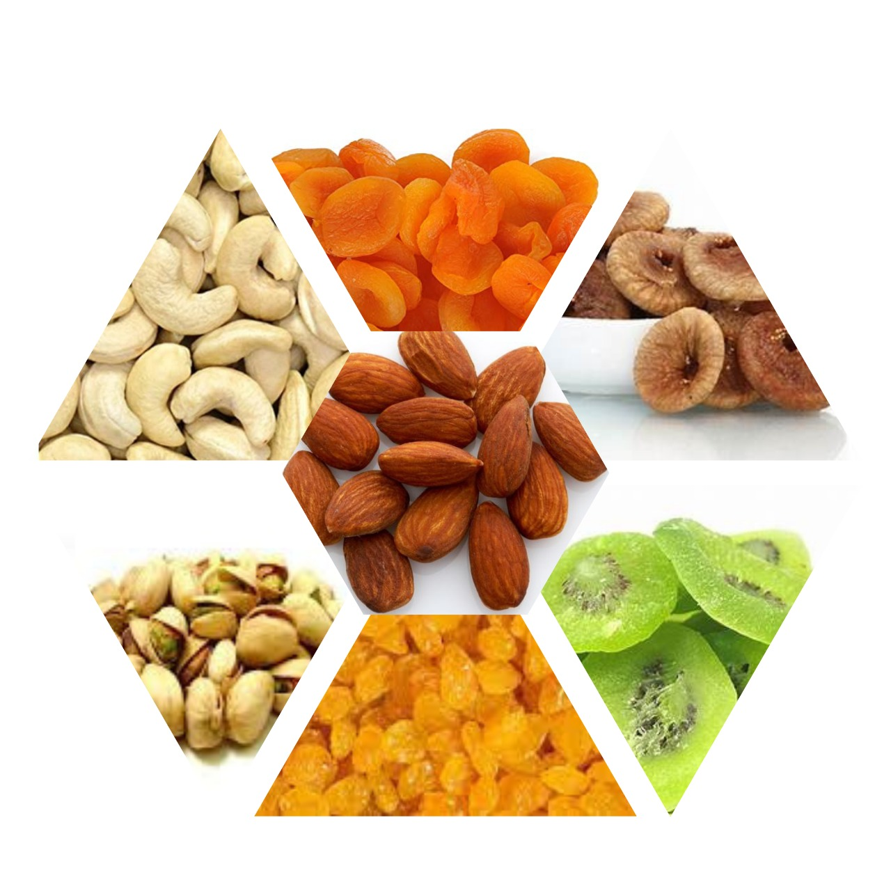 Dry fruits combo off 150grm*7