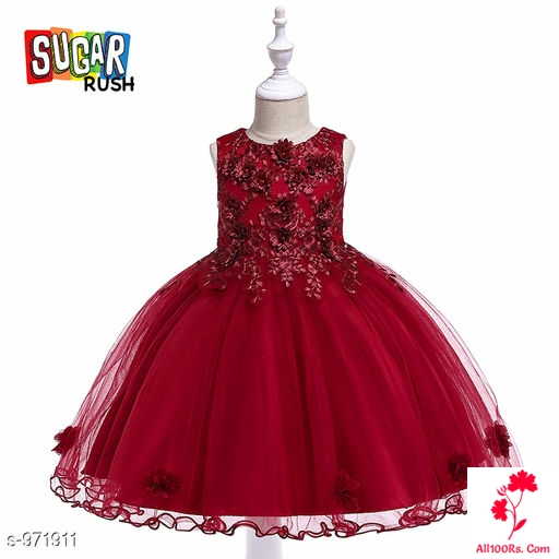 Ursula Red Little Princess Dress