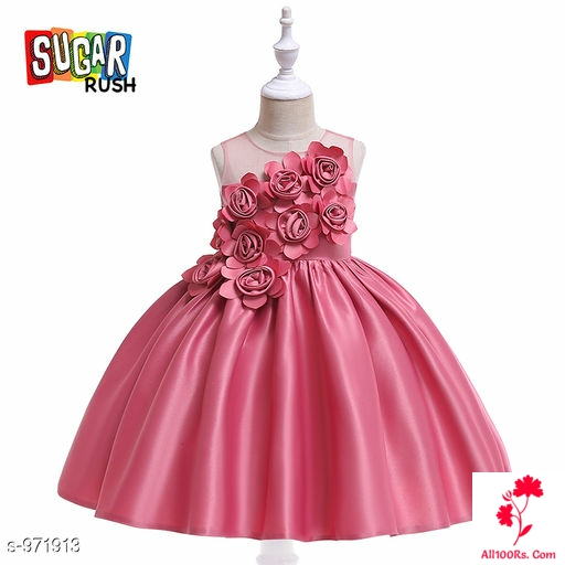 ROSEY BABY PINK PRINCESS DRESS