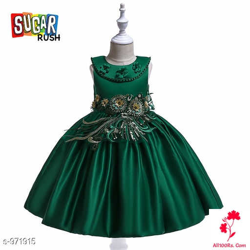 Emerald Green Little Princess