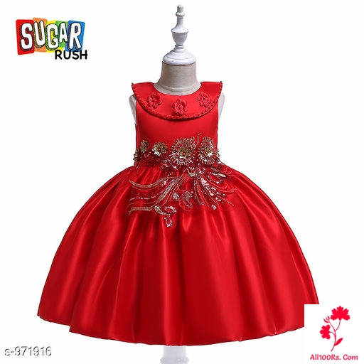 Riya Red Little Princess Dress