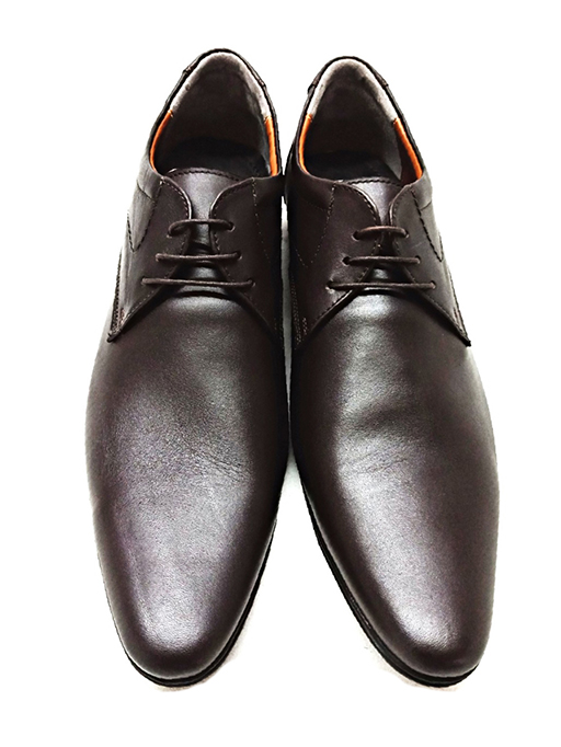 Tango Brown Pointed Leather shoe
